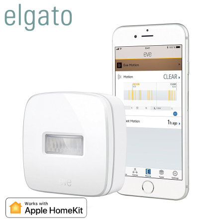 Elgato Eve Motion Smart Wireless Motion Sensor for Apple HomeKit
