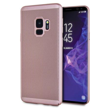 Olixar Meshtex Samsung Galaxy S9 Case Rose Gold Reviews