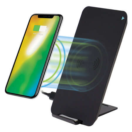 4Smarts VoltBeam Evo 10W Fast Wireless Charging Stand - Black