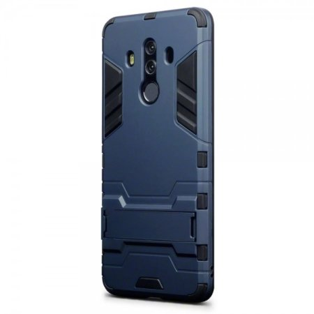 half off 98abf 57c14 Olixar Huawei Mate 10 Pro Dual Layer Armour Case With Stand - Blue