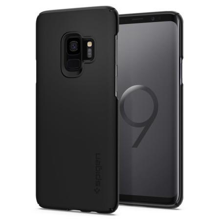 Spigen Thin Fit Samsung Galaxy S9 Case - Black