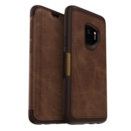 OtterBox Strada Samsung Galaxy S9 Case - Brown