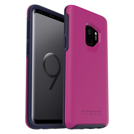 low priced 63366 7d50f OtterBox Symmetry Samsung Galaxy S9 Case - Mix Berry Jam