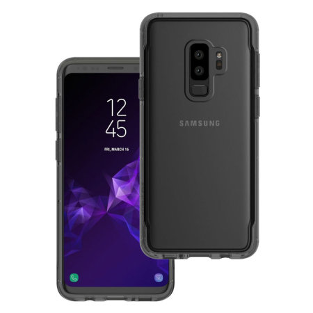 e1200379e74 Funda Galaxy S9 Plus Griffin Survivor Clear - Negro /Transparente