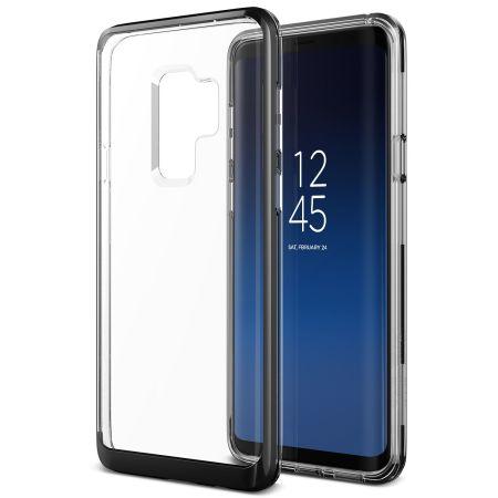 cheap for discount b8695 f18c6 VRS Design Crystal Bumper Samsung Galaxy S9 Plus Case - Metal Black