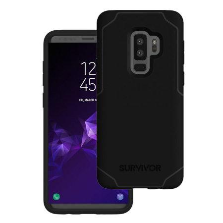 buy popular a9c3b 94543 Griffin Survivor Strong Samsung Galaxy S9 Plus Case - Black / Grey