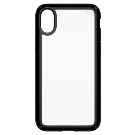 speck presidio show iphone x protective case - clear / black reviews