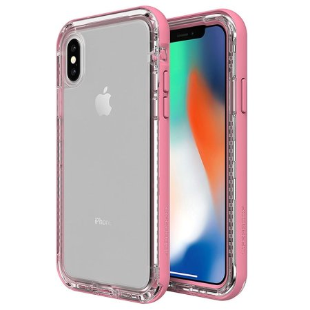 lifeproof next iphone x tough case - cactus rose reviews
