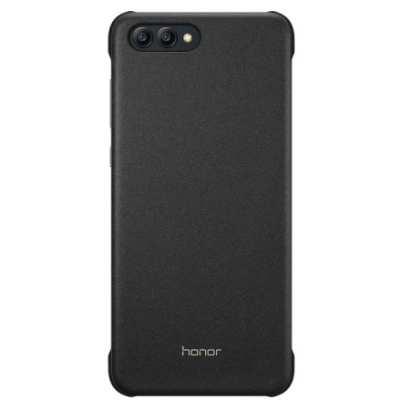 coque officielle huawei honor view 10 magnet noire. Black Bedroom Furniture Sets. Home Design Ideas