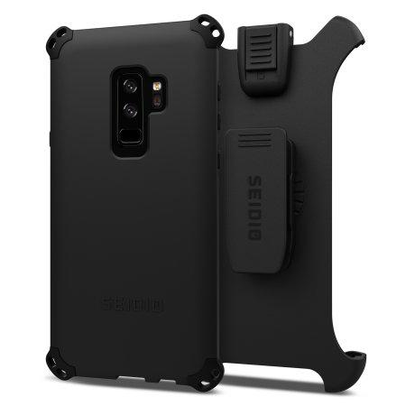 new concept 42a2a 08f24 Seidio Dilex Combo Samsung Galaxy S9 Plus Holster Case - Black