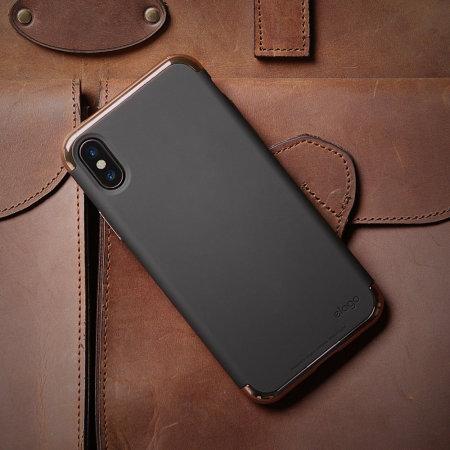 size 40 dada8 bd928 Elago Empire iPhone X Case - Rose Gold / Black