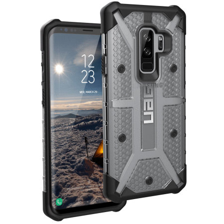super popular c7d83 5adda UAG Plasma Samsung Galaxy S9 Plus Protective Case - Ice / Black
