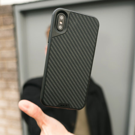 Carbon Fiber Iphone Case >> Mous Limitless 2.0 iPhone X Aramid Tough Case - Carbon Fibre