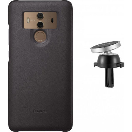 promo code 37937 22d49 Official Mate 10 Pro Magnetic Car Mount & Protective Case - Brown