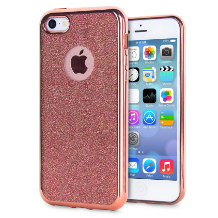 rose gold iphone case gold iphone 5 glitter 16038
