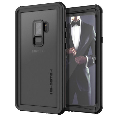 various colors 35b08 dba2e Ghostek Nautical Samsung Galaxy S9 Plus Waterproof Case - Black