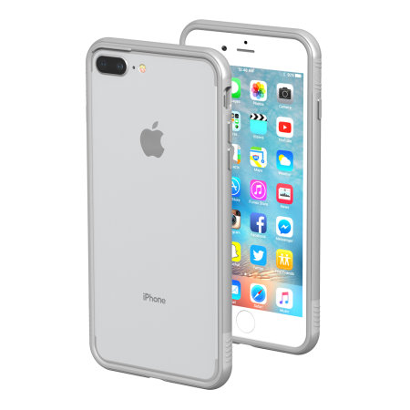 thanotech k11 iphone 8 plus / 7 plus aluminium bumper case - silver reviews