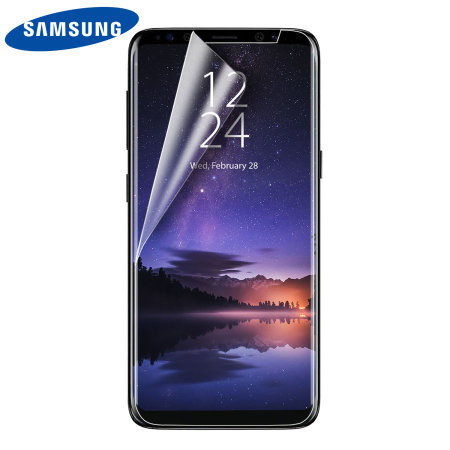 official samsung galaxy s9 screen protector twin pack. Black Bedroom Furniture Sets. Home Design Ideas