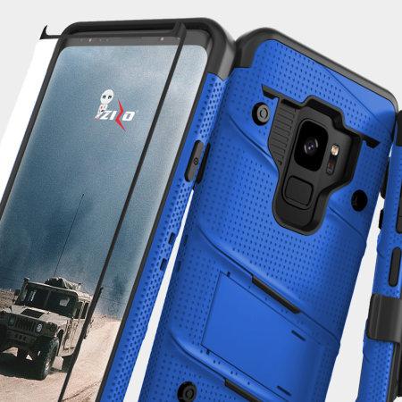 Zizo Bolt Samsung Galaxy S9 Tough Case Amp Screen Protector