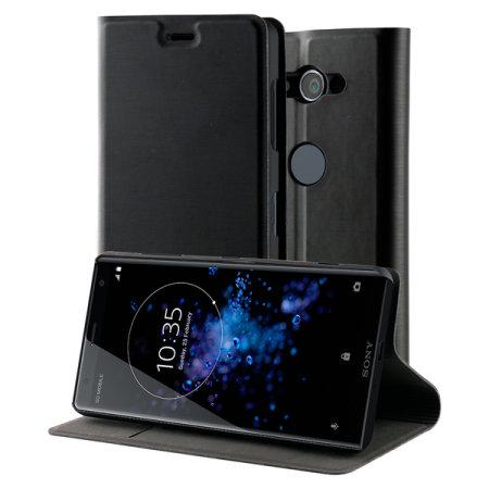 Funda Xperia XZ2 Compact Slim Standing Book de Roxfit - Negra