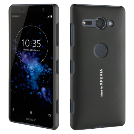 Roxfit Sony Xperia XZ2 Compact Slim Hard Shell Case - Black
