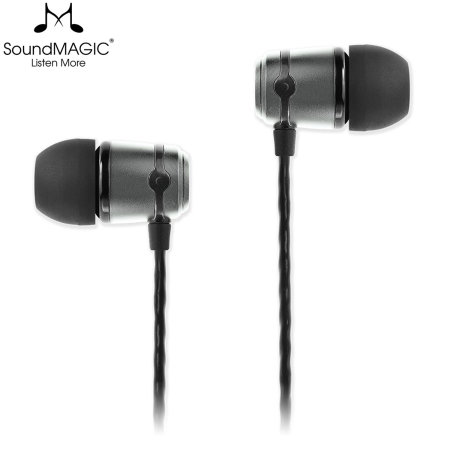 SoundMAGIC E50 In-Ear Isolating Headphones - Gun Metal