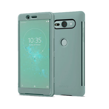 Official Sony Xperia XZ2 Compact SCTH50 Style Cover Touch Case - Green