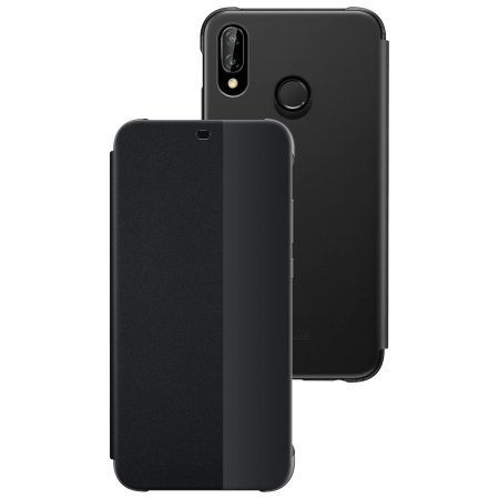 brand new d1825 dc66a Official Huawei P20 Lite Smart View Flip Case - Black