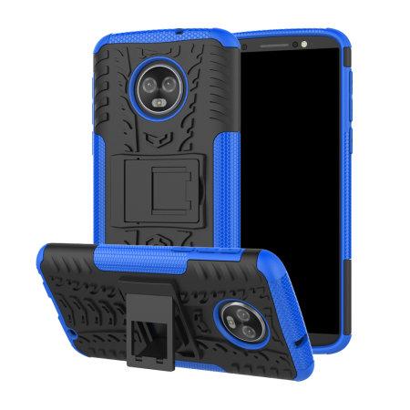 Funda Motorola Moto G6 Plus ArmourDillo Protective - Azul