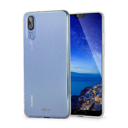 san francisco 113df 1636a Olixar Ultra-Thin Huawei P20 Case - 100% Clear