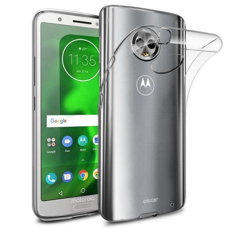hot sale online 81848 5c787 Olixar Ultra-Thin Motorola Moto G6 Plus Case - 100% Clear