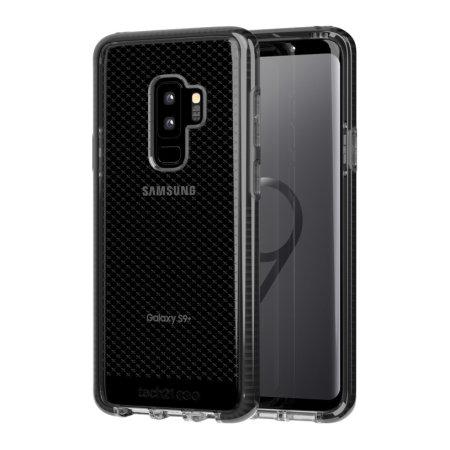 timeless design 16ca7 69cf1 Tech21 Evo Check Samsung Galaxy S9 Plus Case - Smokey / Black