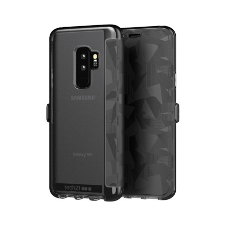 save off 22443 b523a Tech21 Evo Wallet Samsung Galaxy S9 Plus Case - Digital Camo