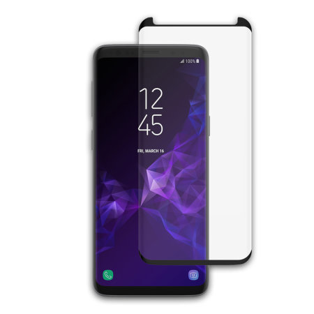 low priced 3f1fe ee3d3 Incipio Samsung Galaxy S9 Plus Plex Shield Edge Glass Screen Protector