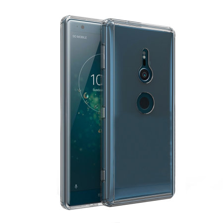 Olixar ExoShield Tough Snap-on Sony Xperia XZ2 Case - Kristalhelder