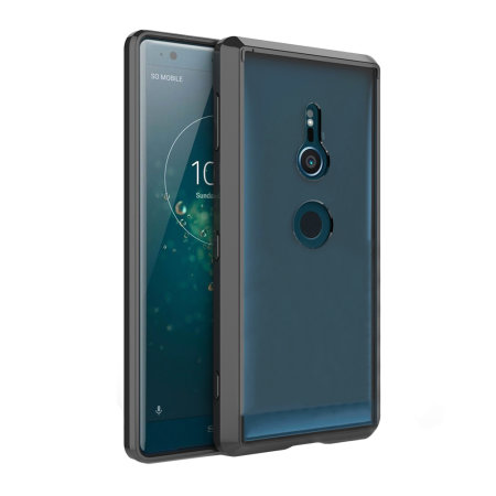 Olixar ExoShield Tough Snap-on Sony Xperia XZ2 Case - Black / Clear