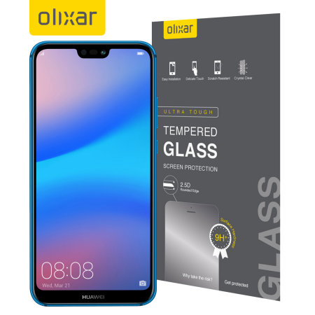 Olixar Huawei P20 Lite Tempered Glass Screen Protector