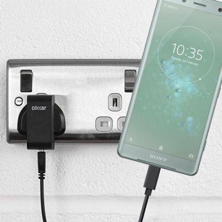 Olixar High Power Sony Xperia XZ2 Compact USB-C Mains Charger & Cable