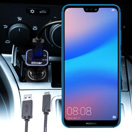Olixar High Power Huawei P20 Lite Car Charger