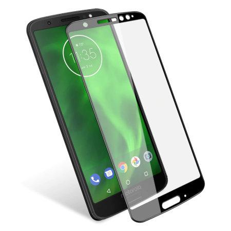 Olixar Motorola Moto G6 Tempered Glass Screen Protector