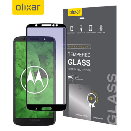 Olixar Motorola Moto G6 Plus Tempered Glass Screen Protector