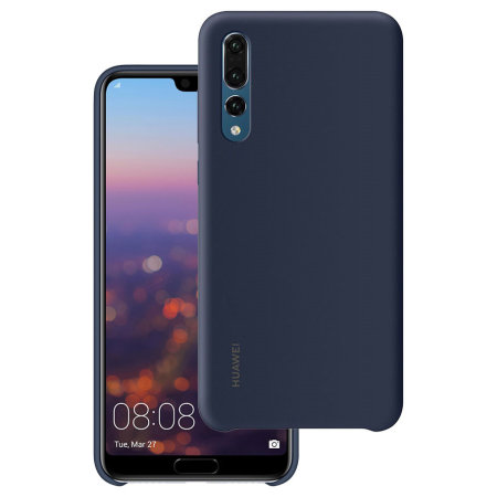 buy popular 83d88 60ee3 Official Huawei P20 Pro Silicone Case - Blue