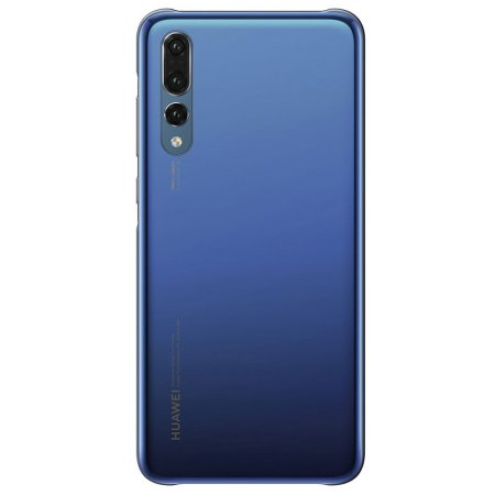 low priced 6e59f e4460 Official Huawei P20 Pro Color Case - Deep Blue