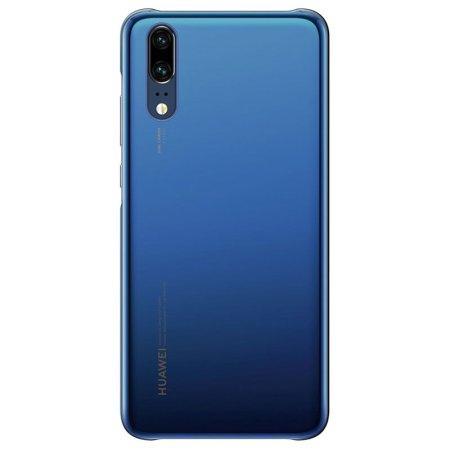 Coque officielle Huawei P20 Color – Bleu profond