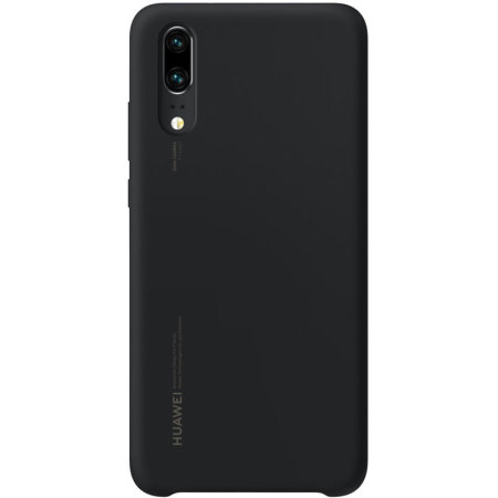 Official Huawei P20 Silicone Case - Black