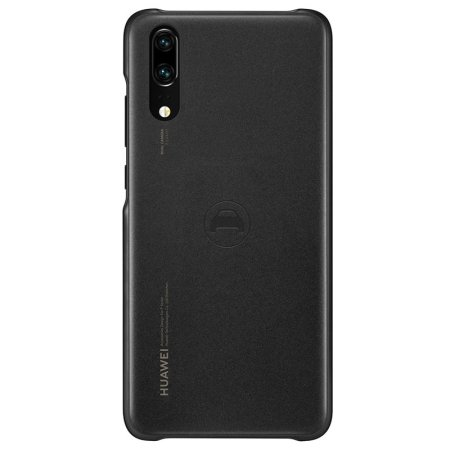 Official Huawei P20 Car Case for Magnetic Car Holders - Black