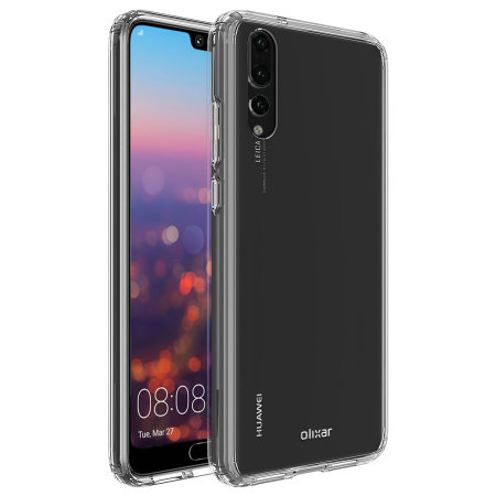 super popular ff9f6 96a03 Olixar ExoShield Tough Snap-on Huawei P20 Pro Case - Crystal Clear