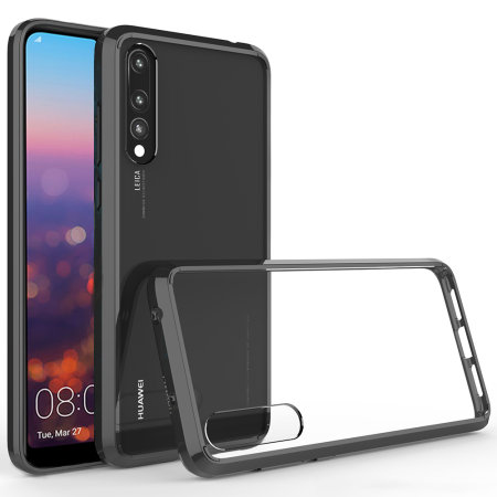 bef2fdfa31cc3 Olixar ExoShield Tough Snap-on Huawei P20 Pro Case - Black