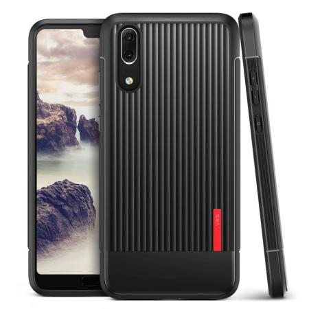 VRS Design Single Fit Huawei P20 Case - Zwart