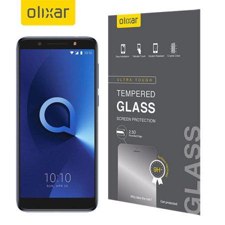 Olixar Alcatel 3X Tempered Glass Screen Protector
